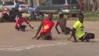Wasu guragu na wasan kwallo a Nijeriya