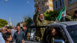 قوات تابعة للجيش السوري الحر شمال سوريا