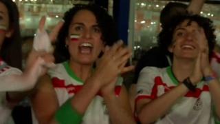 تصاویری از واکنشهای تماشاگران ایرانی