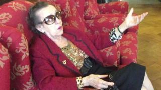 Lina Vasta es una de las habitantes de la casa Verdi.