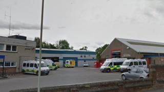 Dundee ambulance depot