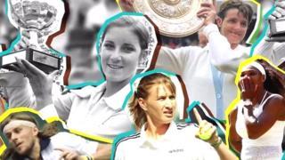 जागतिक किर्तीच्या टेनिसपटूंचे फोटो