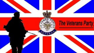 The Veterans Party logo