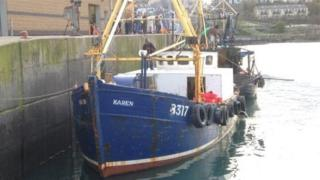 An investigation has found the actions of a Royal Navy submarine put the lives of the crew of a Co Down trawler at risk