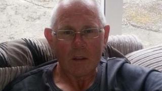 Murder victim Geoff Seggie