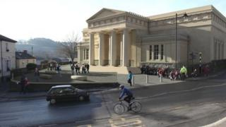An artist's impression of the restored museum and art gallery