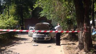 у Дніпрі вибухнув автомобіль