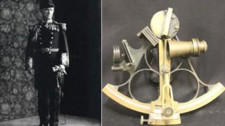 Sir Arthur Rostron and Sextant