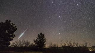 meteor showers are like pretty light shows in the sky