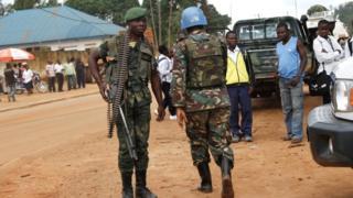 संयुक्त राष्ट्र शांतिरक्षक सैनिक