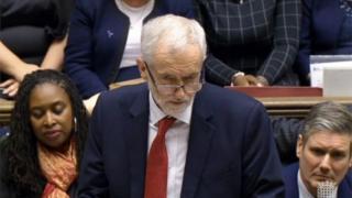 Líder do partido trabalhista Jeremy Corbyn