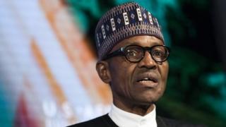 Muhammadu Buhari. Picha: Septemba 2016
