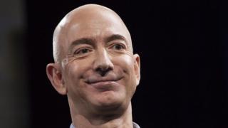 Jeff Bezos, fundador y presidente de Amazon