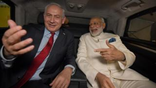 Нетаньяху и Моди