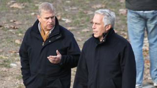 Prince Andrew 'appalled' by Jeffrey Epstein's sex abuse claims