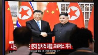 उत्तर कोरिया चीन