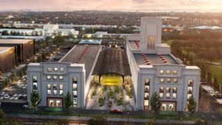 An artist's impression of how the complex will look