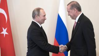 Владимир Путин Реджеп Тайип Эрдоган