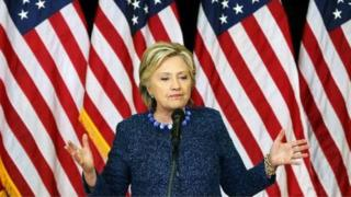 'Yar takarar shugabancin Amurka Hillary Clinton