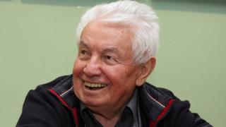 Писатель Владимир Войнович. 2017. Россия