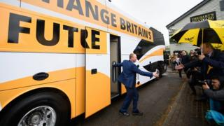 Tim Farron, leader of the Liberal Democrats, campaigning in Kingston and Surbiton