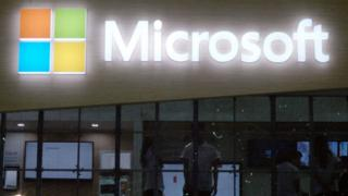 مقر شركة مايكروسوفت الأمريكية العملاقة