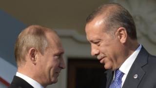 Putin ve Erdogan