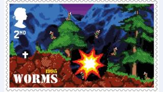 Worms stamp