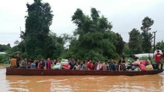 라오스 남부 아타푸 주정부는 피해 지역을 긴급재난구역으로 선포했다