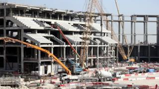 Əl-Bayt stadionu hazırda Dünya Çempionatı üçün tikilir