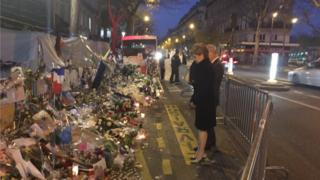 Nicola Sturgeon visited the Bataclan venue while in Paris for the climate change summit