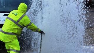 NI Water staff tackle incident