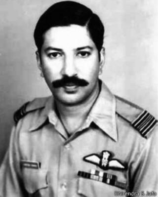 पाकिस्तानी जेल से भागने वाले तीसरे भारतीय पायलट हरीशसिंहजी