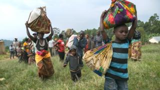 Impunzi zahungiye muri Uganda