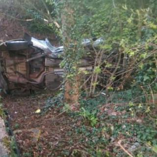 Car crash in Redditch