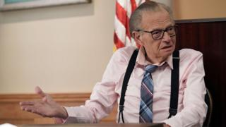 Larry King on Fox Show Let's Be Real. Photo courtesy of Fox