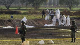 Mexico pipeline explosion aftermath