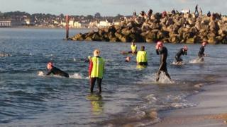 Ironman in Weymouth