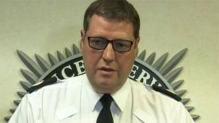 PSNI Assistant Chief Constable Stephen Martin receives an OBE