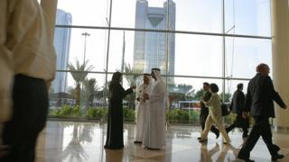 Ciudadanos emiratíes en Dubái