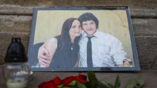 The murder of Jan Kuciak and his fiancée Martina Kusnirova sparked protests in Slovakia
