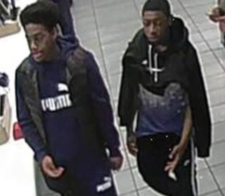 Two men pictured in Leeds