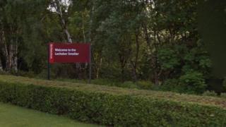 Smelter sign