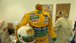 Racing driver suit