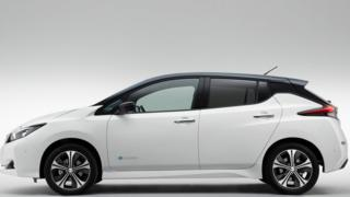 Nissan Leaf 2018 model