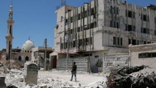 مدينة درعا جنوبي سوريا