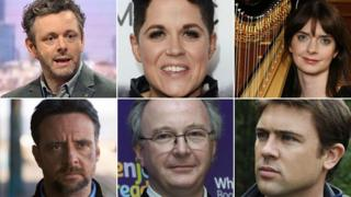 Signatories include Michael Sheen, Amy Wadge, Catrin Finch, Richard Harrington, Philip Pullman and Owen Sheers