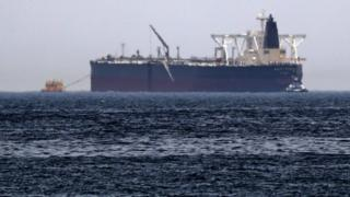 "Crude oil tanker, Amjad, which was one of two reported tankers that were damaged in mysterious ""sabotage attacks"""