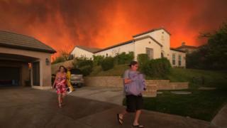 Incendie, Californie