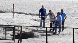 Local officials try to reconstruct what happened at Solfatara
